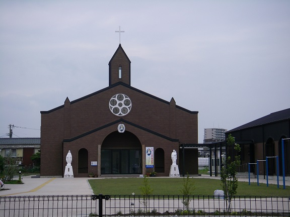 宮崎カトリック協会新築工事(外観)