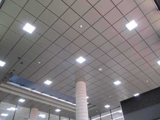 宮崎大学 図書館 (正面玄関天井)